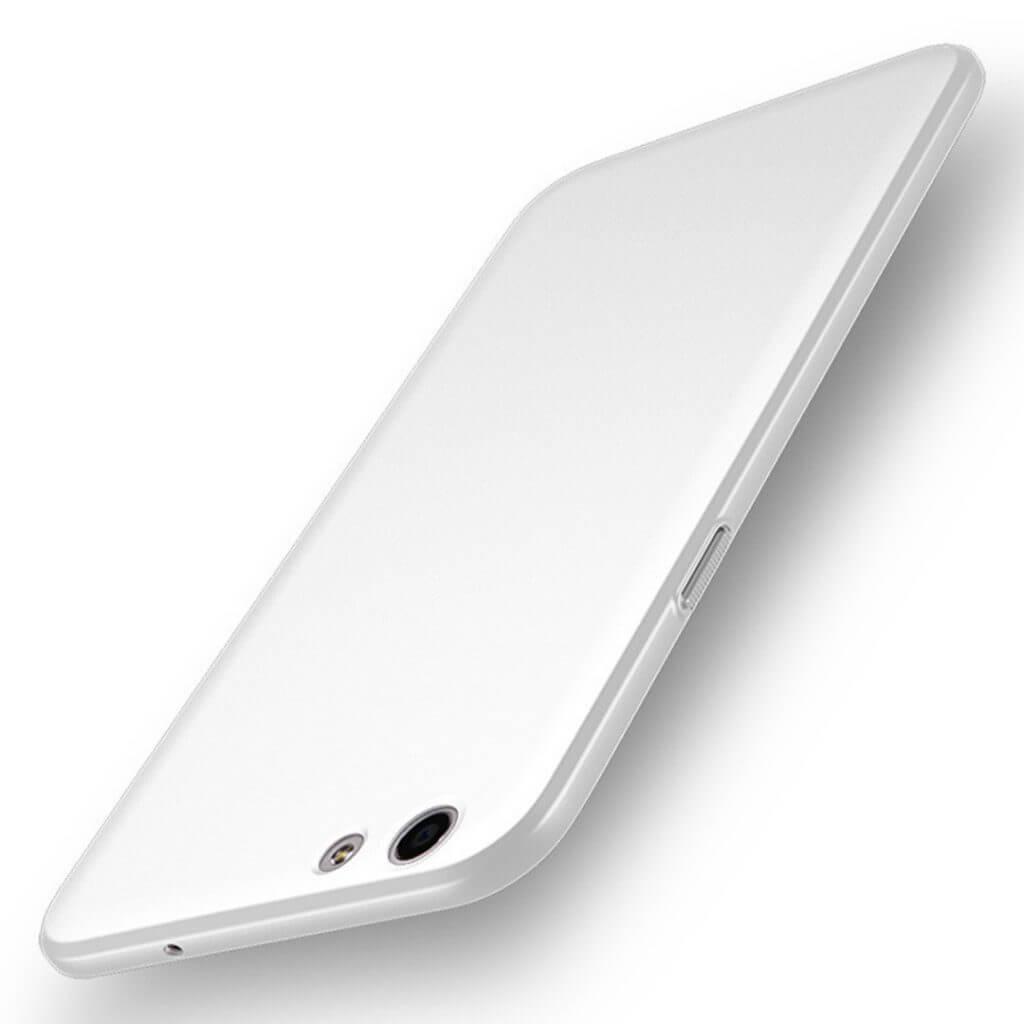 Oppo F3 A77 Baby Skin Case Hardcase Ultra Thin Casing Silver