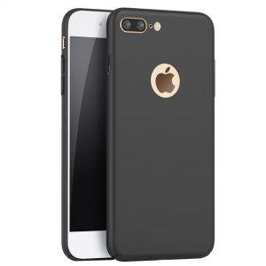 iPhone 8 Plus Baby Skin Ultra Thin Full Cover Hard Case Black
