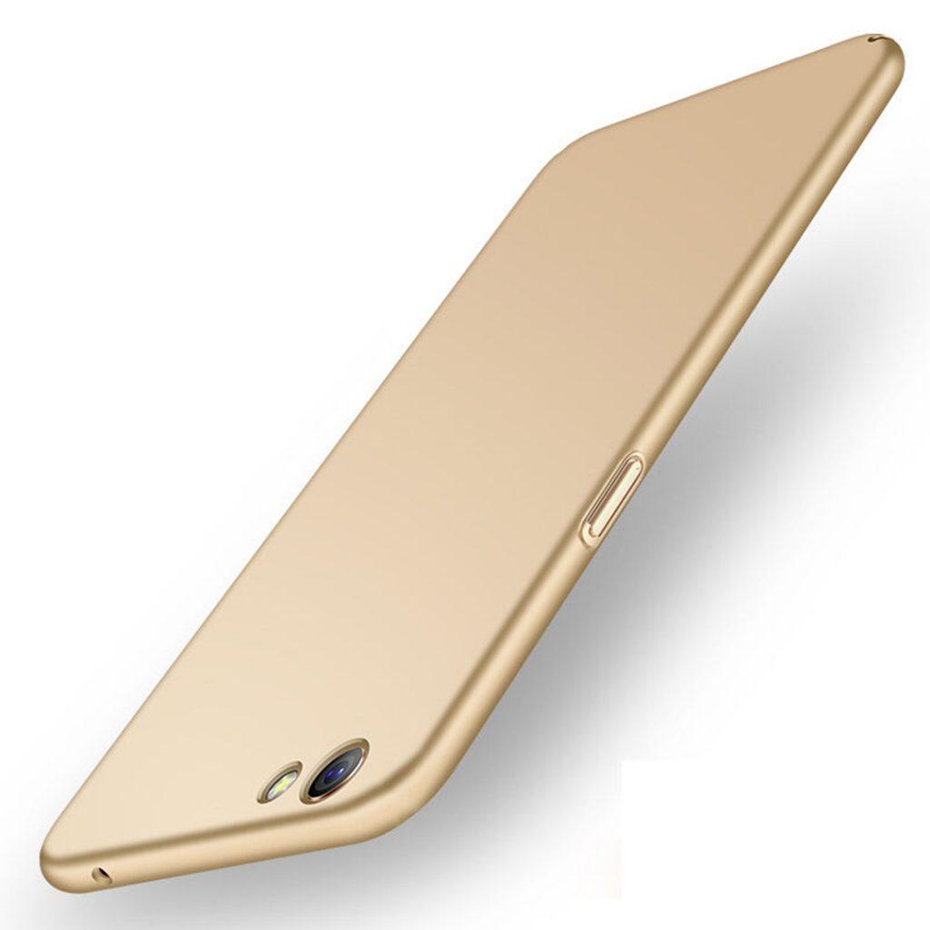 OPPO F3 Plus Baby Skin Ultra Thin Hard Case Gold