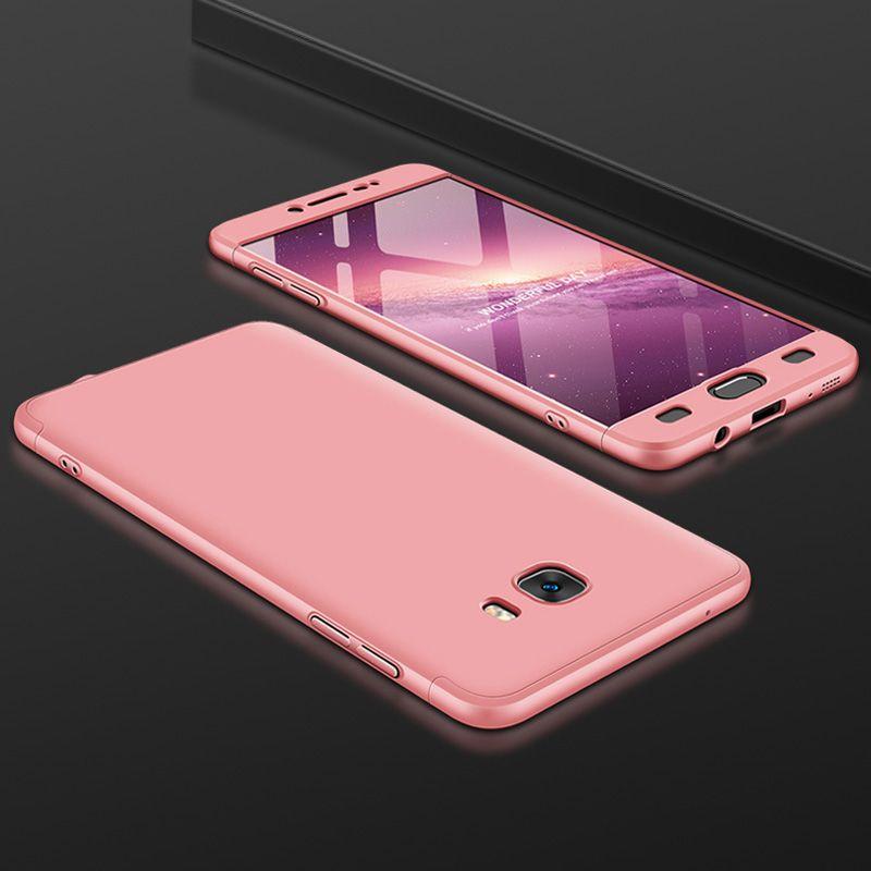 I sheeta For Samsung Galaxy C9 Pro Case Anti knock Full Coverage Matte Cover Fuda Capa 4 compressor