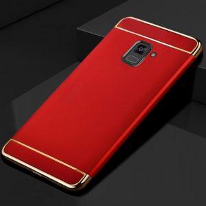 KaiNuEn luxury origina Phone back etui coque cover case for samsung galaxy a7 2018 a8 Plus 2 compressor