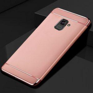KaiNuEn luxury origina Phone back etui coque cover case for samsung galaxy a7 2018 a8 Plus 3 compressor