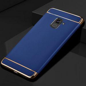 KaiNuEn luxury origina Phone back etui coque cover case for samsung galaxy a7 2018 a8 Plus 4 compressor