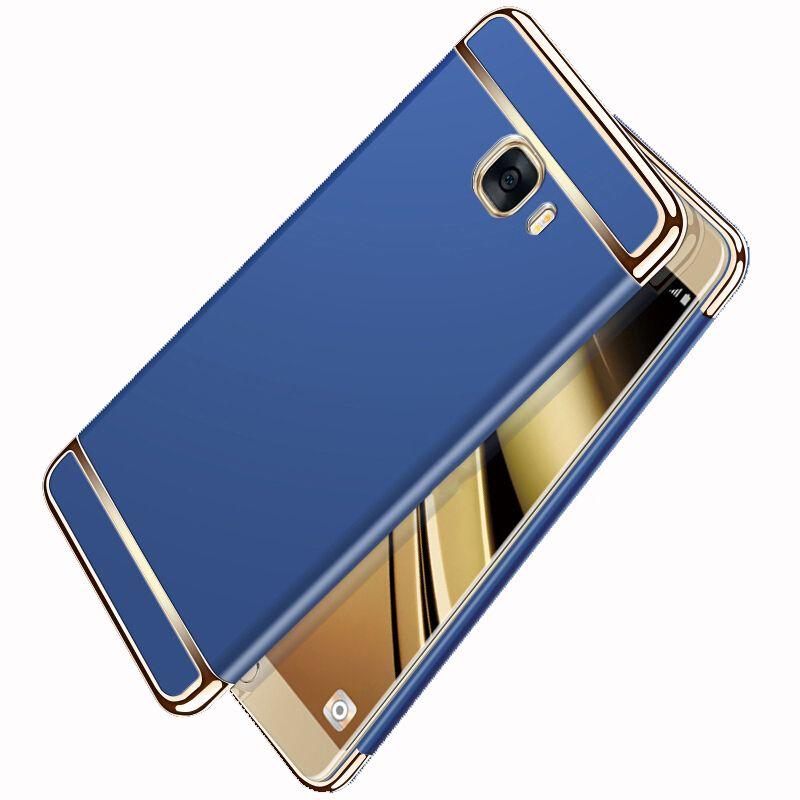 Luxury 3 in 1 Full Body Plating PC Hard Case for Samsung Galaxy C5 C7 C9 1 compressor