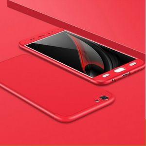 Vivo V5 Plus Full Cover Armor Baby Skin Hard Case RED