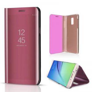 kainuen luxury original mirror clear view cover coque case for samsung galaxy j7 plus J7 phone 2 compressor