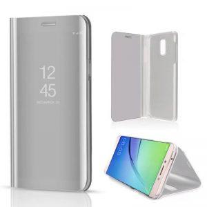 kainuen luxury original mirror clear view cover coque case for samsung galaxy j7 plus J7 phone 4 compressor
