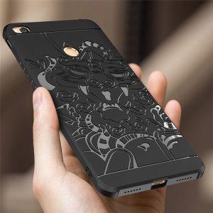 6 44 128GB For Xiaomi Mi Max 2 Case Soft Silicone Tpu 3D Carved Dragon Pattern 0 compressor