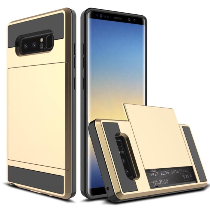 Back Case Verus Damda Samsung Note 8 Gold