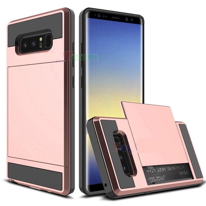 Back Case Verus Damda Samsung Note 8 Rose Gold
