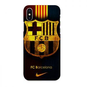 Case Mofit Football Club Eropa For Iphone X Barcelona