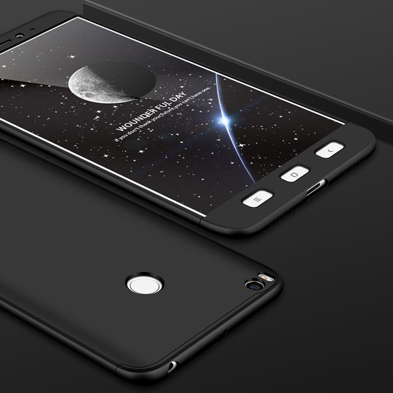 Lzcxi 3 in 1 Case For Mi Max 2 Luxury 360 Protection Slim Full Coverage Phone 0 compressor