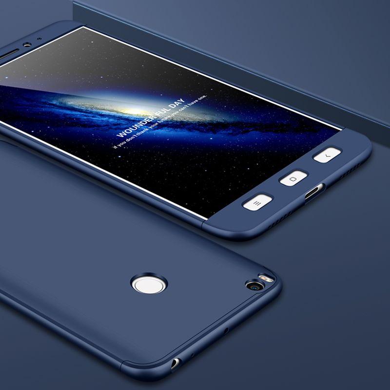 Lzcxi 3 in 1 Case For Mi Max 2 Luxury 360 Protection Slim Full Coverage Phone 5 compressor