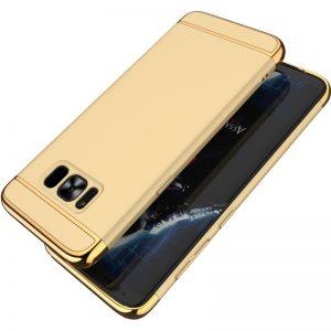 Premium Hard Case 3 in 1 List Gold Samsung S8 Gold