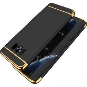 Premium Hard Case 3 in 1 List Gold Samsung S8 Rose Gold
