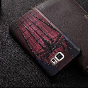 Softcase 3D Marvel Super Hero Samsung Note 5 Spiderman
