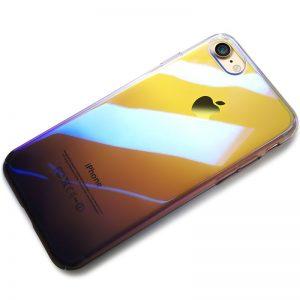CAFELE Hard PC Phone Case for iphone 7 8 Aurora Gradient Color Luxury Slim Transparent Cover 0 compressor