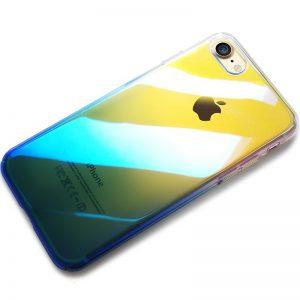 CAFELE Hard PC Phone Case for iphone 7 8 Aurora Gradient Color Luxury Slim Transparent Cover 1 compressor