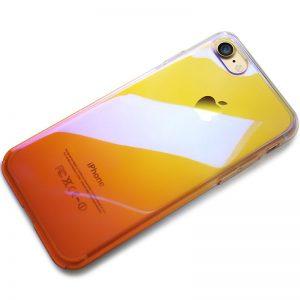 CAFELE Hard PC Phone Case for iphone 7 8 Aurora Gradient Color Luxury Slim Transparent Cover 2 compressor
