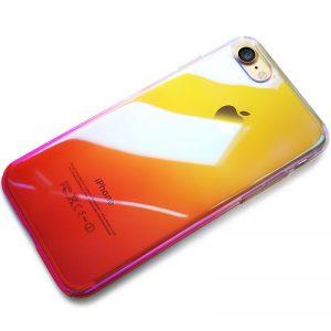 CAFELE Hard PC Phone Case for iphone 7 8 Aurora Gradient Color Luxury Slim Transparent Cover 3 compressor