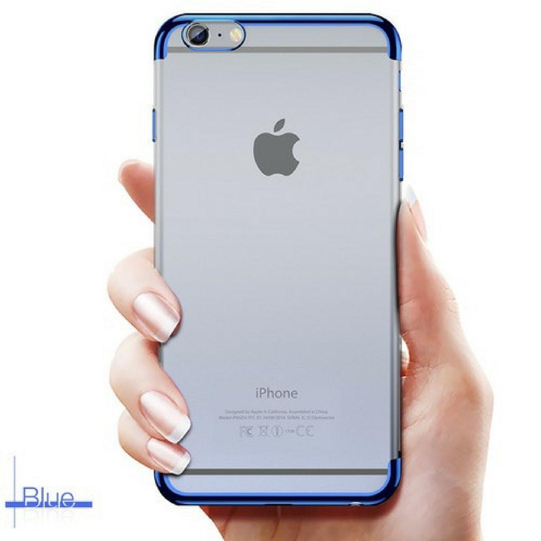 Neon light iPhone 6 Blue