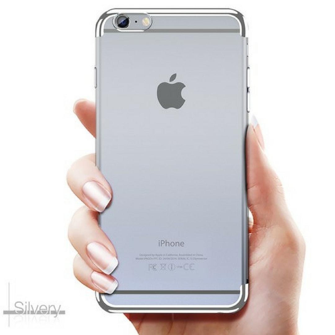 Neon light iPhone 6 Silver