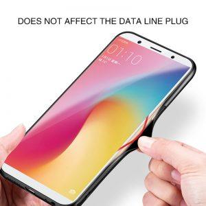 Rzants Phone Case For OPPO A83 Glass Back TPU Edge Slim Thin Anti Scratch Anti knock 4 compressor