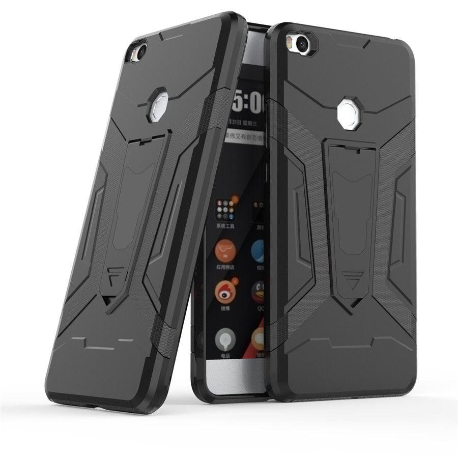 Triseoly For xiaomi mi max 2 case Rugged Armor Hybrid 6 44 mi max 2 back 2 compressor