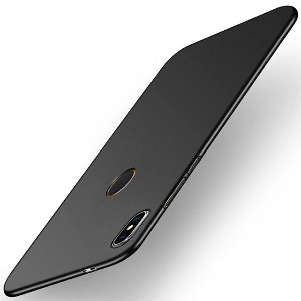 For Xiaomi Redmi S2 Case for Xiaomi Redmi S2 Cover PC Plastic Matte PC Hard Back Black