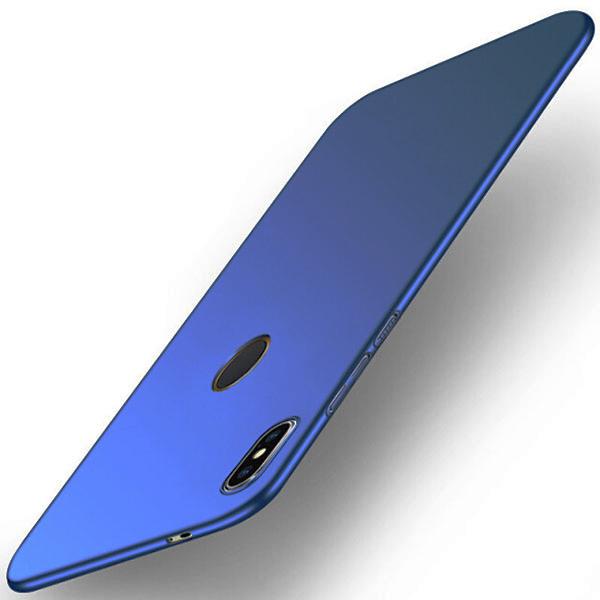 For Xiaomi Redmi S2 Case for Xiaomi Redmi S2 Cover PC Plastic Matte PC Hard Back Blue