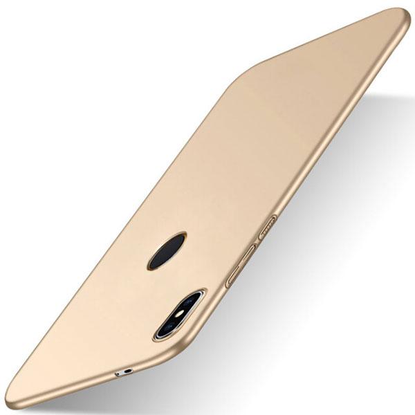 For Xiaomi Redmi S2 Case for Xiaomi Redmi S2 Cover PC Plastic Matte PC Hard Back Gold
