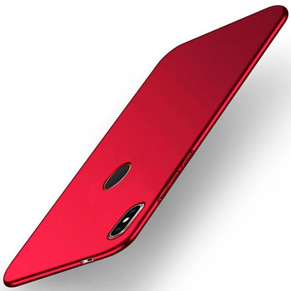 For Xiaomi Redmi S2 Case for Xiaomi Redmi S2 Cover PC Plastic Matte PC Hard Back Red