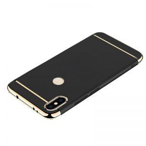 For Xiaomi Redmi S2 MI 8 Back Case 3 in 1 360 PC Full Protection Coque Black