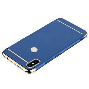 For Xiaomi Redmi S2 MI 8 Back Case 3 in 1 360 PC Full Protection Coque Blue