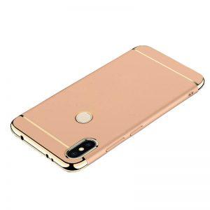 For Xiaomi Redmi S2 MI 8 Back Case 3 in 1 360 PC Full Protection Coque Gold