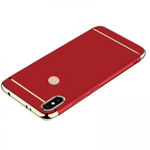 For Xiaomi Redmi S2 MI 8 Back Case 3 in 1 360 PC Full Protection Coque Red