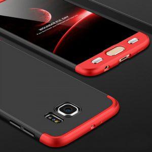 S7 Edge Black Red