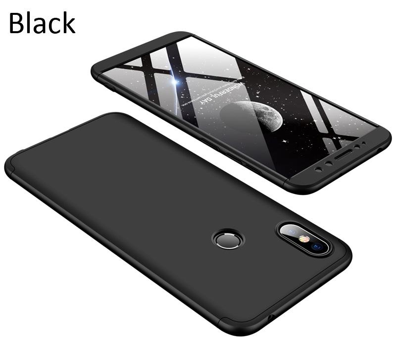 GKK Case For Xiaomi Redmi S2 360 Full Protection Cover Black