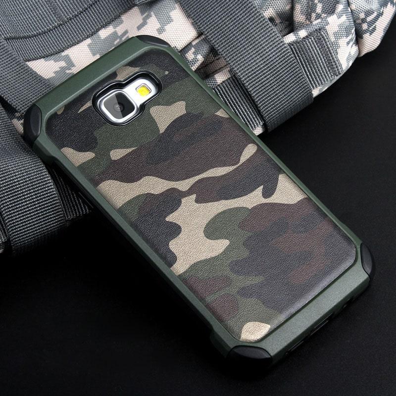 ITEUU A9 Army Camouflage Hard Case for Samsung Galaxy A9 Bag TPU PC Anti knock Shockproof 2 min