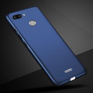 Luxury Hard Phone Case For Xiaomi Xiomi Redmi 6 Case Cover Matte Protector Back Cover For Blue compressor