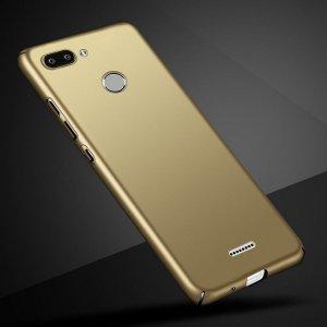 Luxury Hard Phone Case For Xiaomi Xiomi Redmi 6 Case Cover Matte Protector Back Cover For Gold compressor