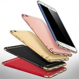Case 3 In 1 Luxury Plating Vivo Y71