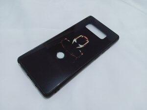 Case Crystall Glow In The Dark Samsung Note 8 Iron Man
