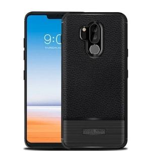 Case LG G7 Plus Softcase Rugged hitam