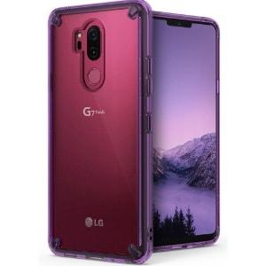 Case LG G7 Plus ThinQ Original Ringke Rearth Fusion Orchid Purple