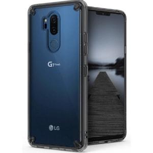 Case LG G7 Plus ThinQ Original Ringke Rearth Fusion Smoke Black