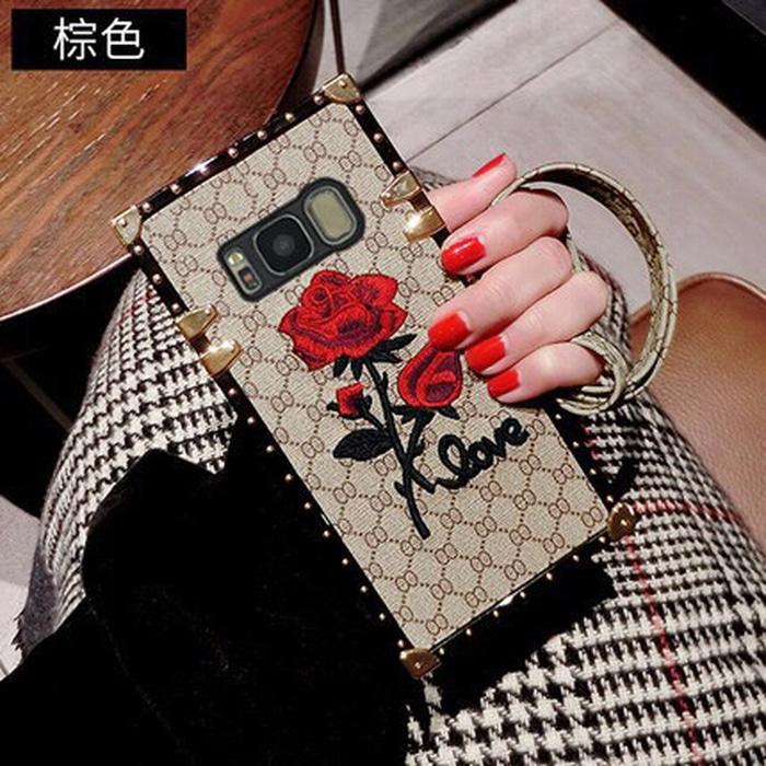 Case Love Rose Elgan S8 Brown