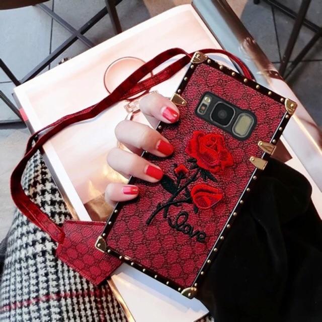 Case Love Rose Elgan S8 Red