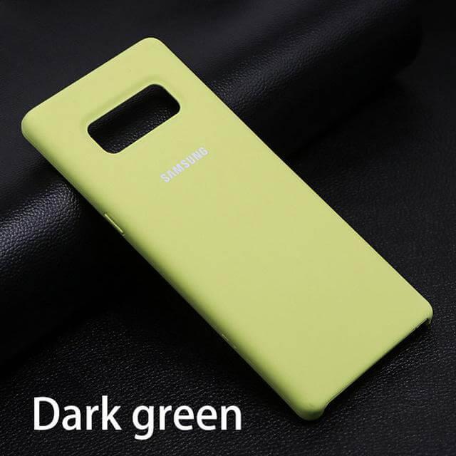 Case Silicone OEM Samsung NOTE 8 Dark Green