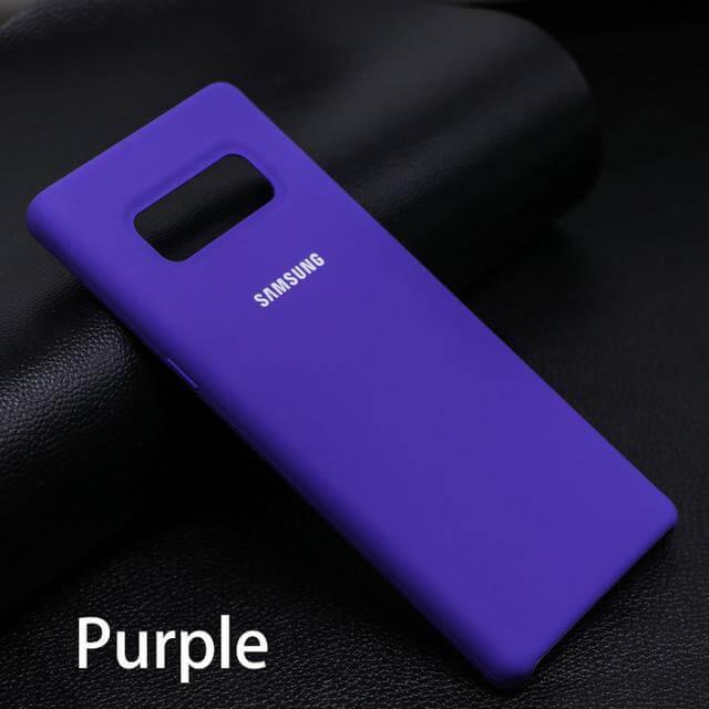 Case Silicone OEM Samsung NOTE 8 Ungu
